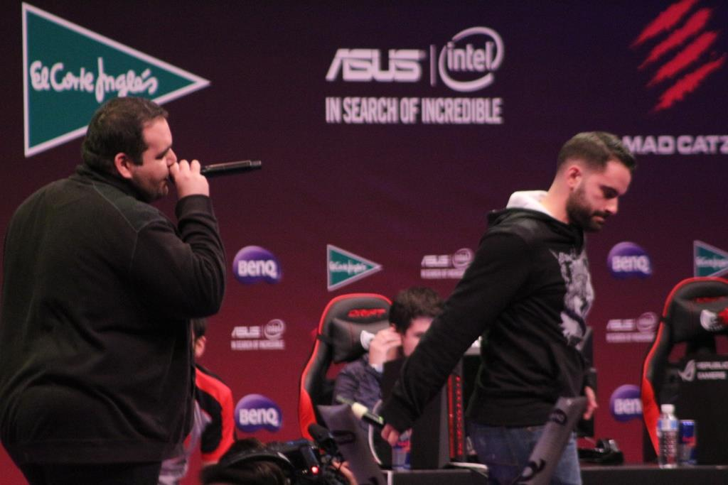 Gamergy Madrid - Rapping at the stage