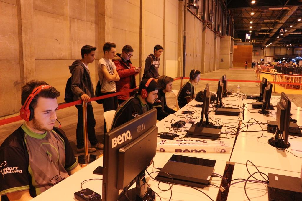 Gamergy Madrid - Team Burn in combat (5)