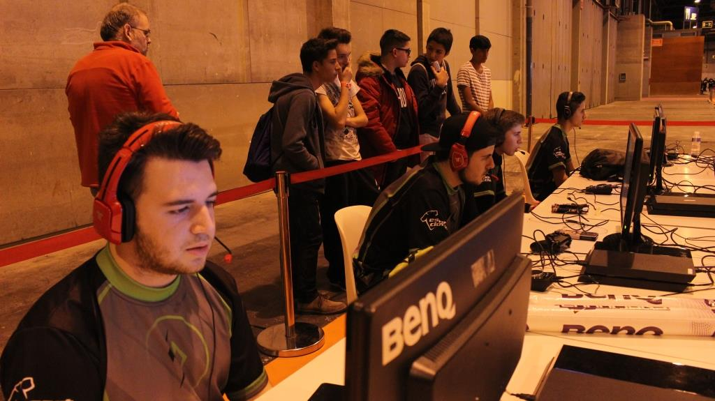 Gamergy Madrid - Team Burn in combat (6)