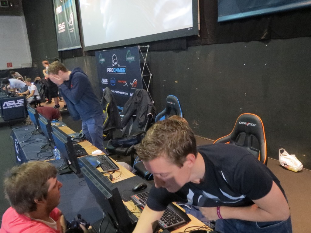 GameForce 1 Antwerp: Technical problems (no sound!)
