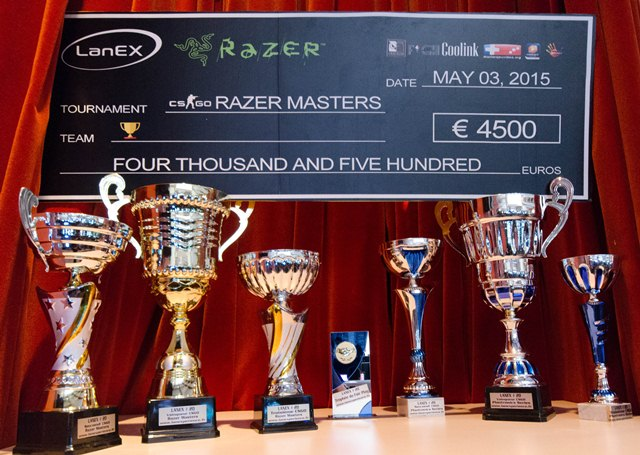 LanEX 20: the trophies